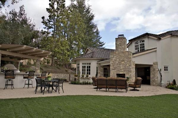 Rancho Santa Fe Country Estate Exterior Loggia